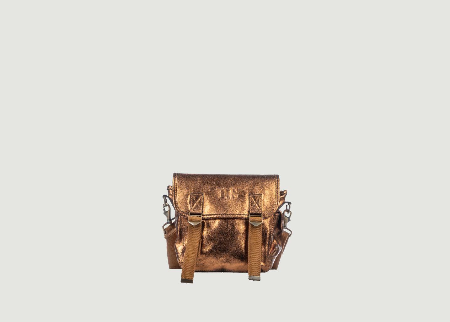Petit sac cuir métallisé - SAC US