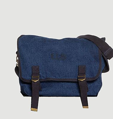 Grand sac en toile denim
