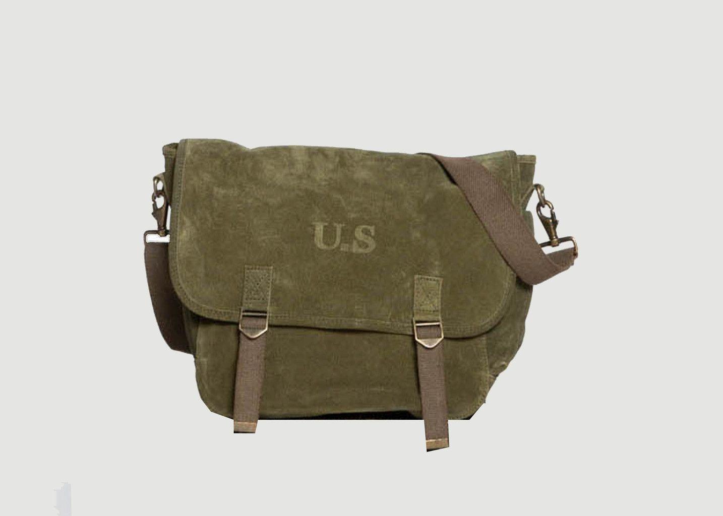 Grand sac en cuir suédé - SAC US