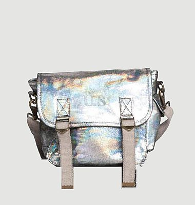 Petit sac en cuir métallisé unicorn