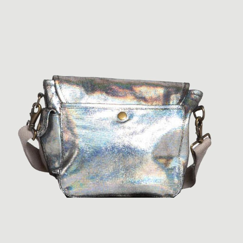 Petit sac en cuir métallisé unicorn - SAC US
