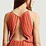 matière Robe longue plissée sans manche Myllow - Samsoe Samsoe