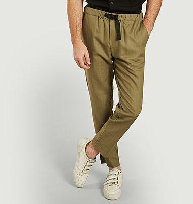 Pantalon casual en lin et coton bio Agnar