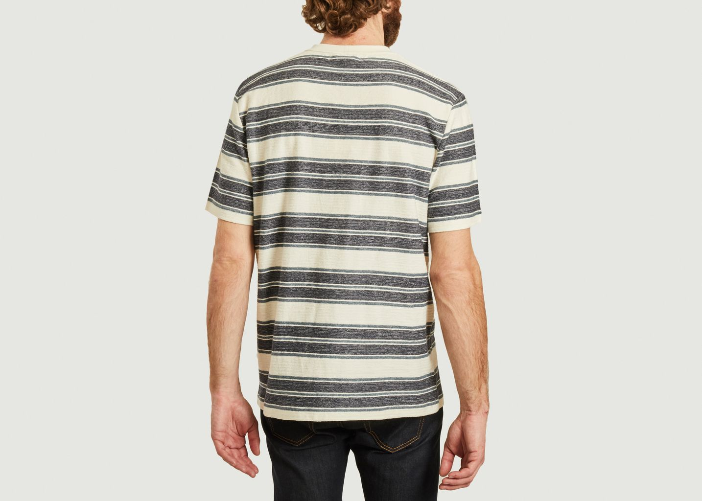 T-shirt rayé Katlego - Samsoe Samsoe