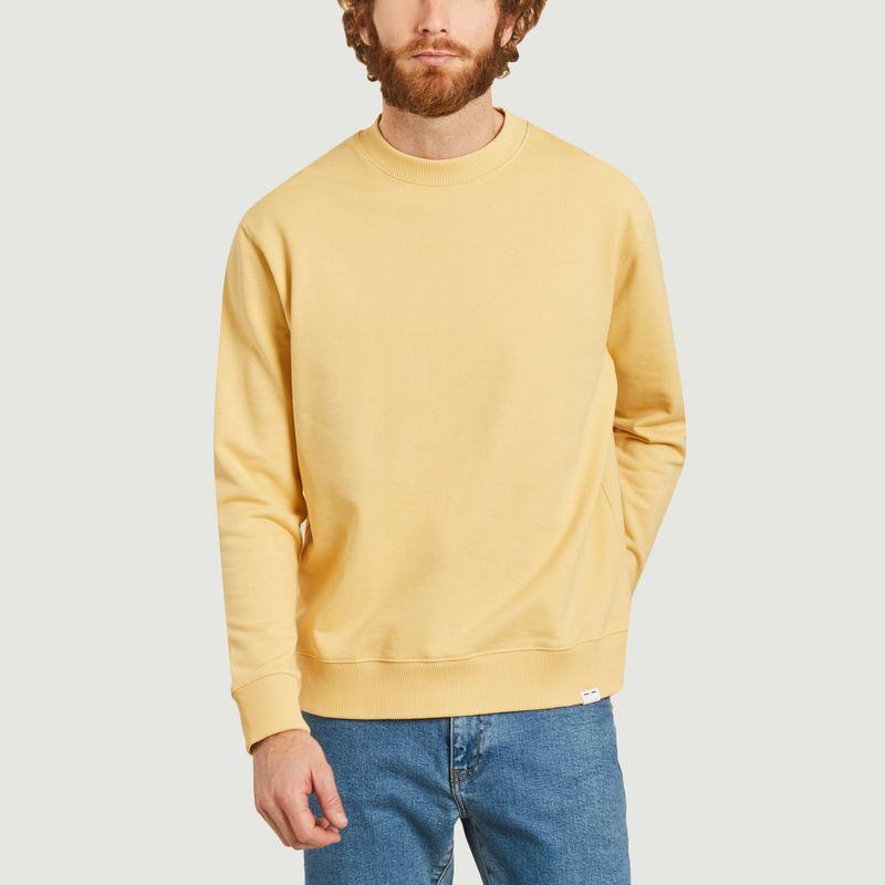 Sweatshirt en coton bio Toscan - Samsoe Samsoe