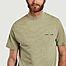 matière T-shirt en coton bio Norsbro - Samsoe Samsoe