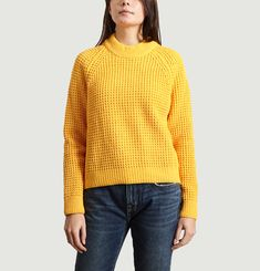 Pull Maille Nid D'Abeille Corot