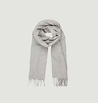 Großer Accola-Schal aus Wolle und Kahmere
