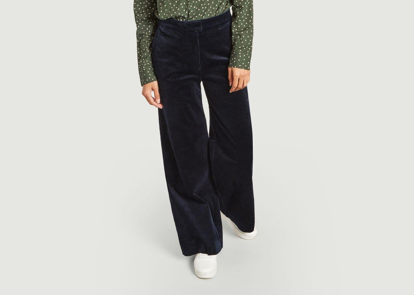 Pantalon large en velours côtelé Collot - Samsoe Samsoe