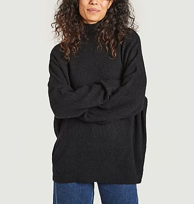 Pull ample col montant Jaci
