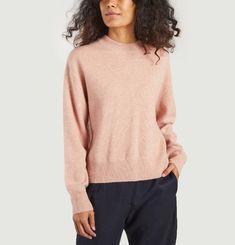 Amaris funnel neck wool sweater