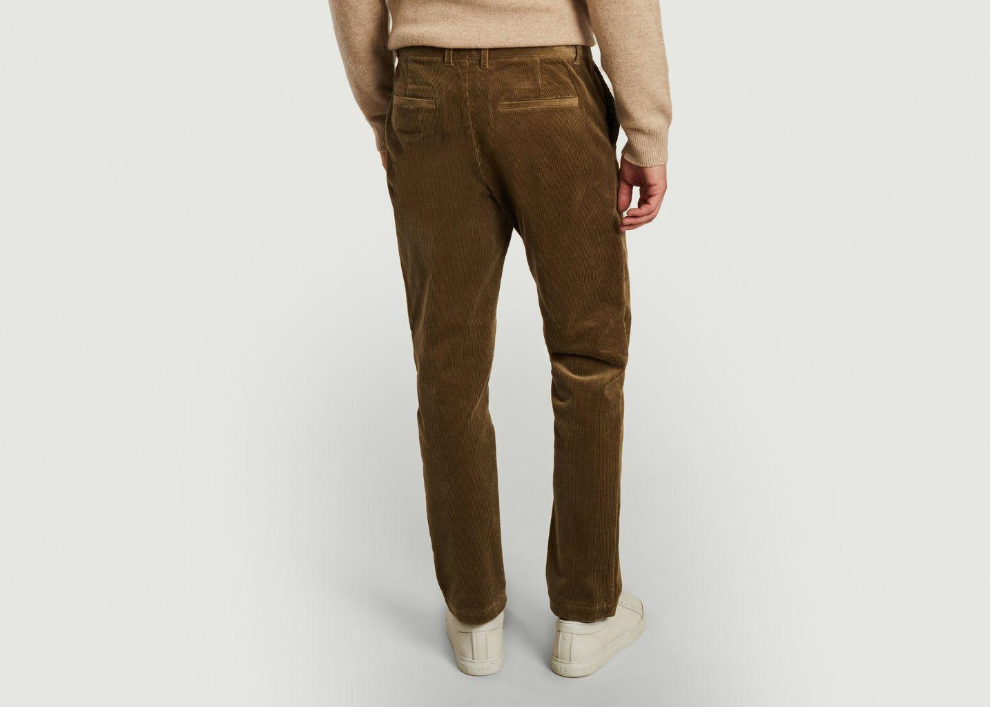 Pantalon slim fit en velours Andy X - Samsoe Samsoe