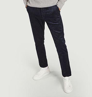 Pantalon slim en velours côtelé Andy X
