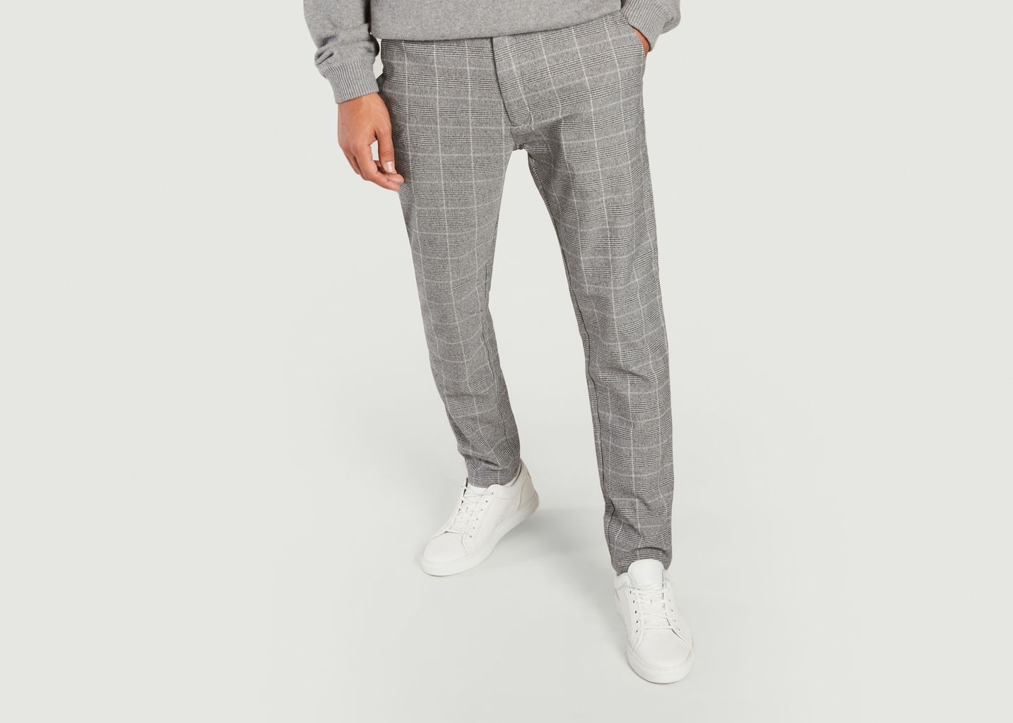 Pantalon formel motif Prince-de-Galles Frankie - Samsoe Samsoe