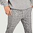 matière Pantalon formel motif Prince-de-Galles Frankie - Samsoe Samsoe
