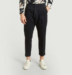 Athi Cropped Trousers