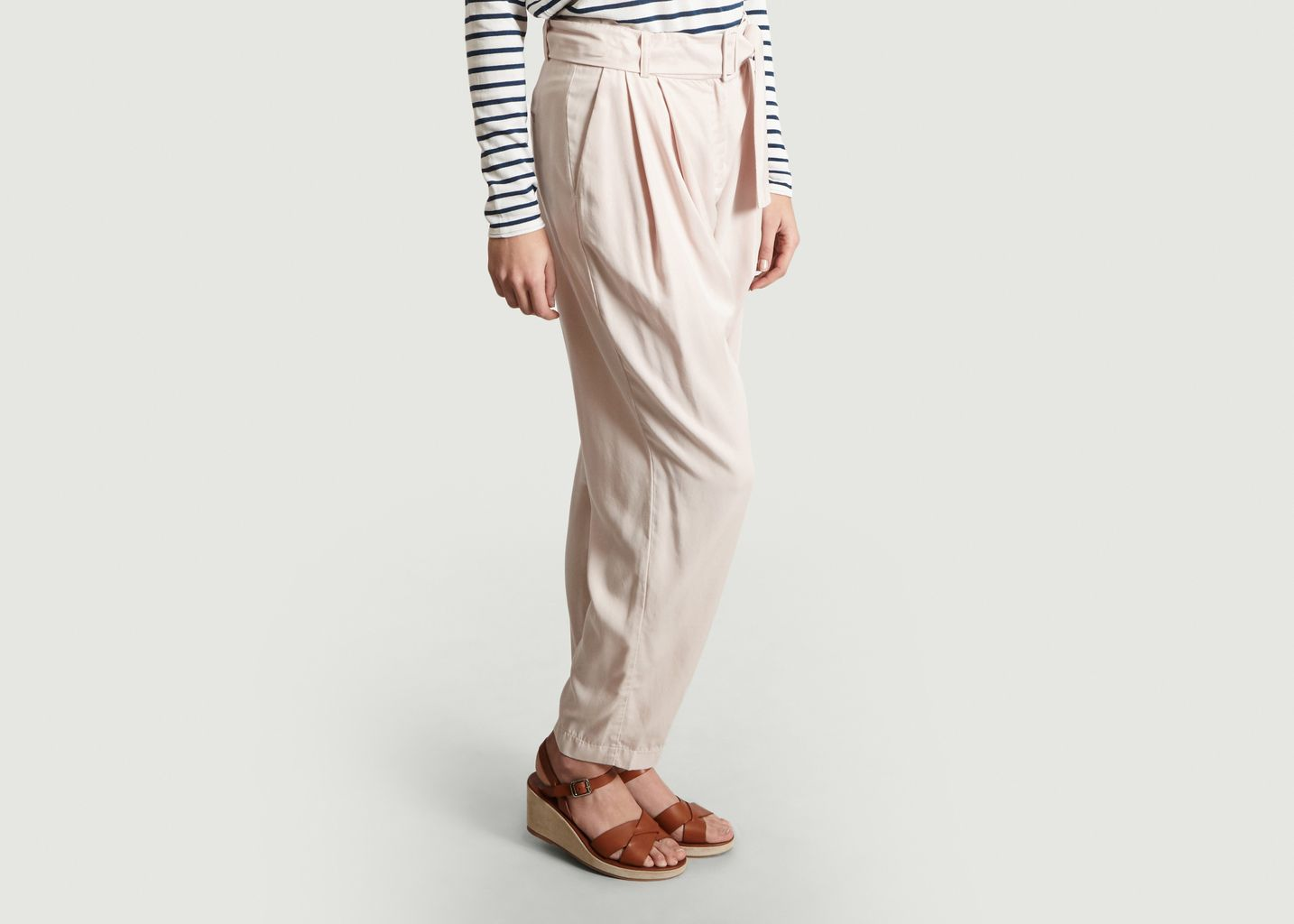 Pantalon Ceinturé Aniko - Samsoe Samsoe