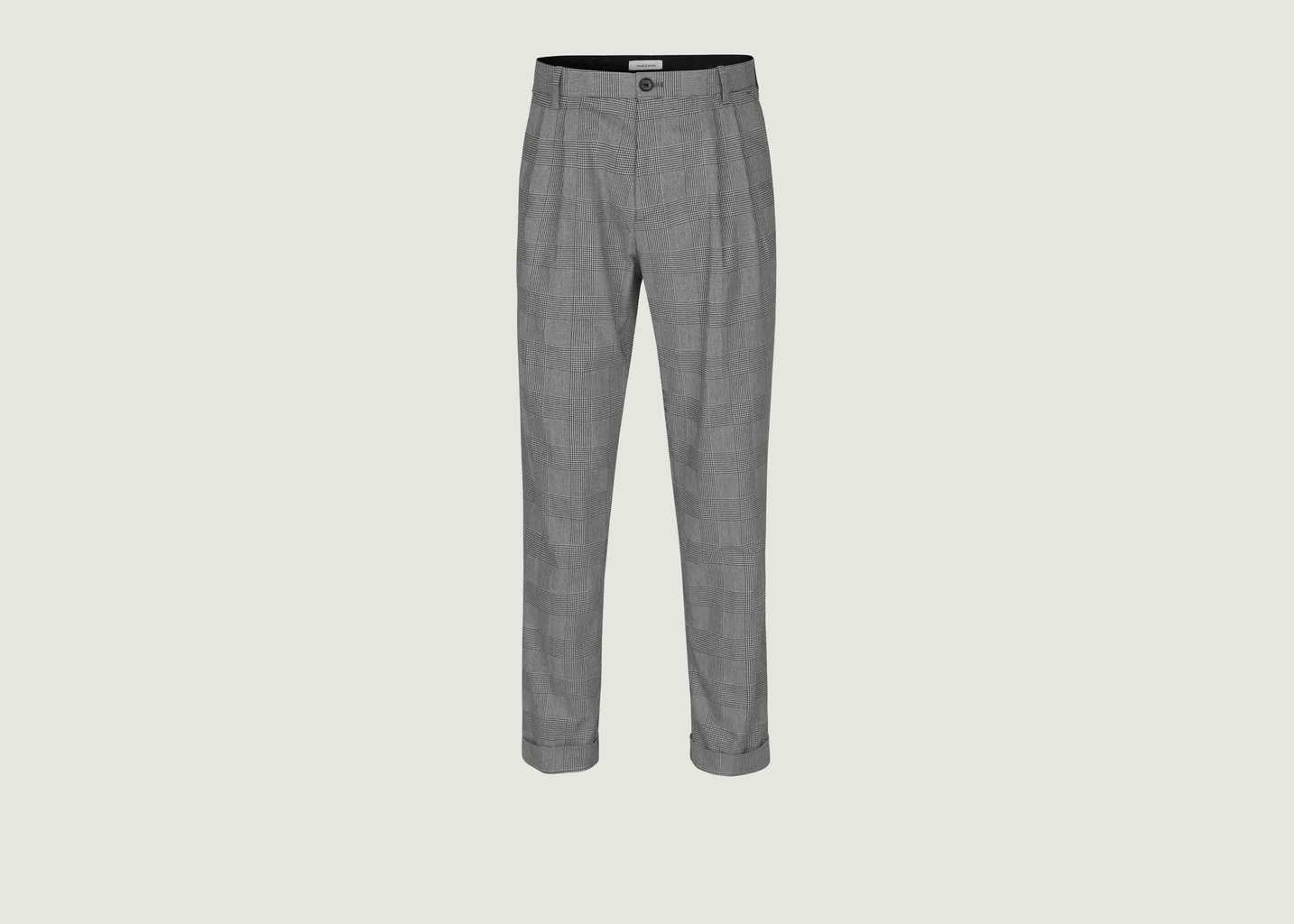 Pantalon A Carreaux Lincoln - Samsoe Samsoe