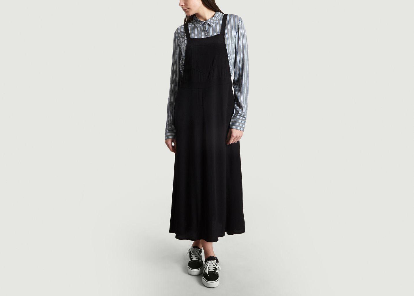 18949a9a7c1 Elder Apron Dress Black Samsoe & Samsoe | L'Exception
