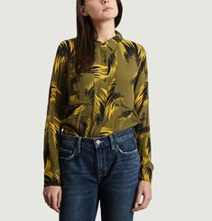 Chemise Print Feuilles Milly