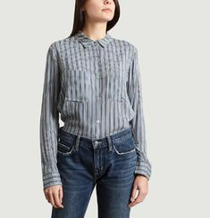 Milly Striped Shirt