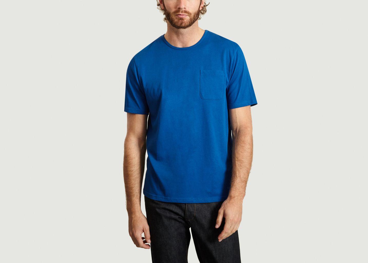 T-Shirt Uni A Poche Finn - Samsoe Samsoe