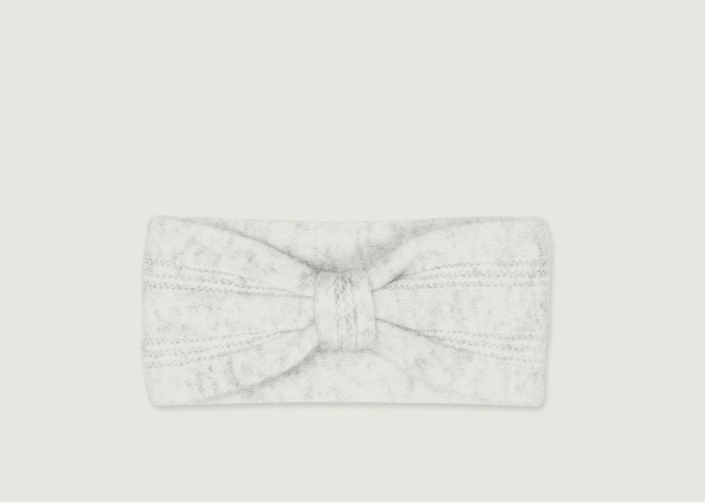 Headband Nor White Mel - Samsoe Samsoe