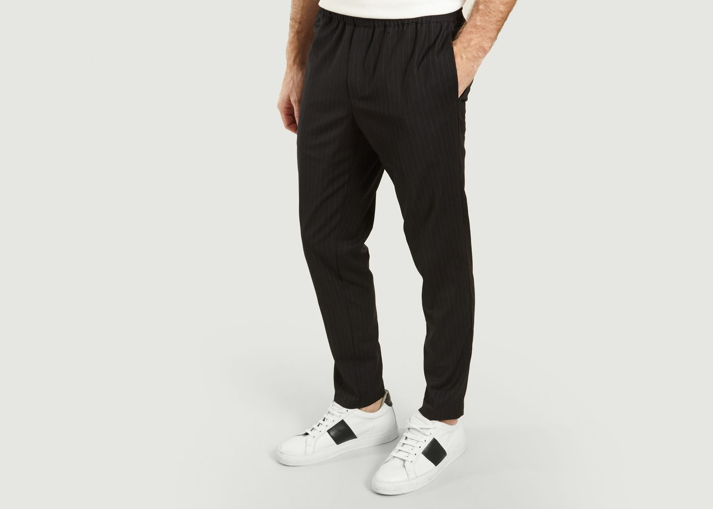 Pantalon Smithy à Fines Rayures - Samsoe Samsoe