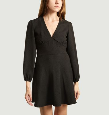 Robe Courte Manches Longues Cindy