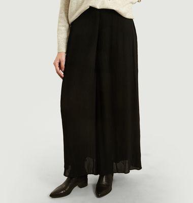 Pantalon Large Plissé Cherrie