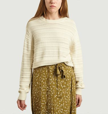 Frey Crew Neck Organic Cotton Sweater