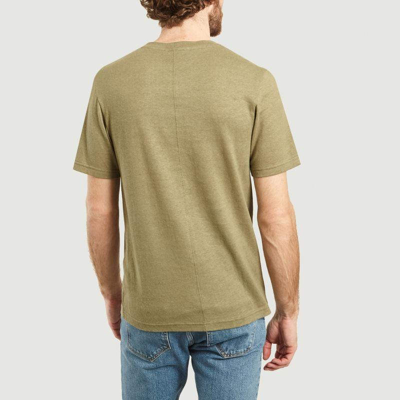 T-Shirt En Chanvre Et Coton Ballum - Samsoe Samsoe