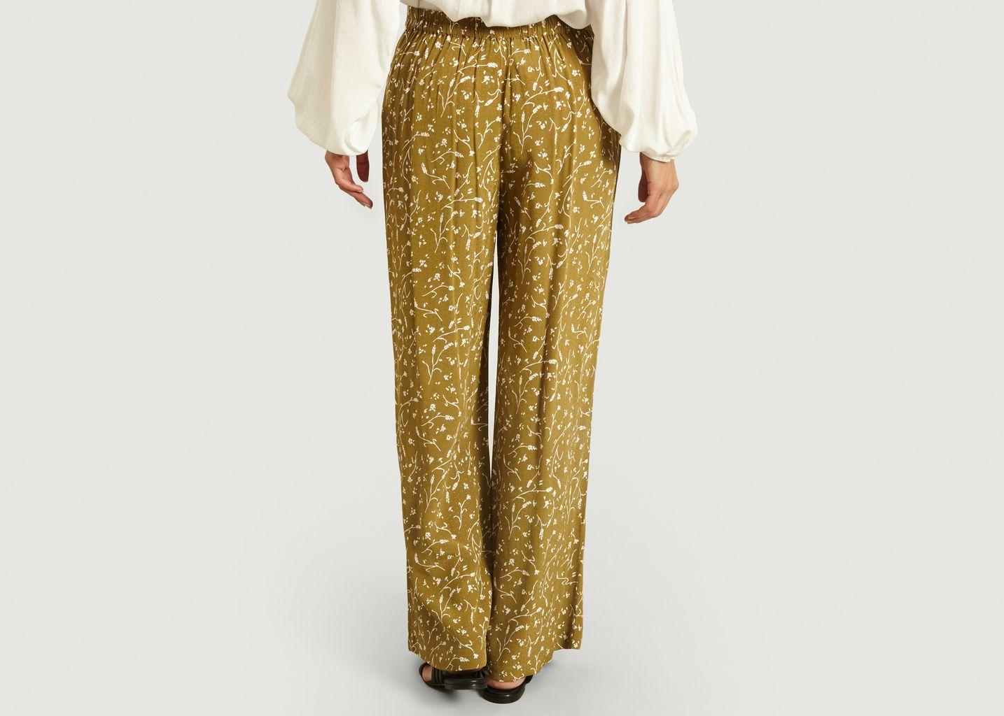 Pantalon motif fleuri Ganda - Samsoe Samsoe