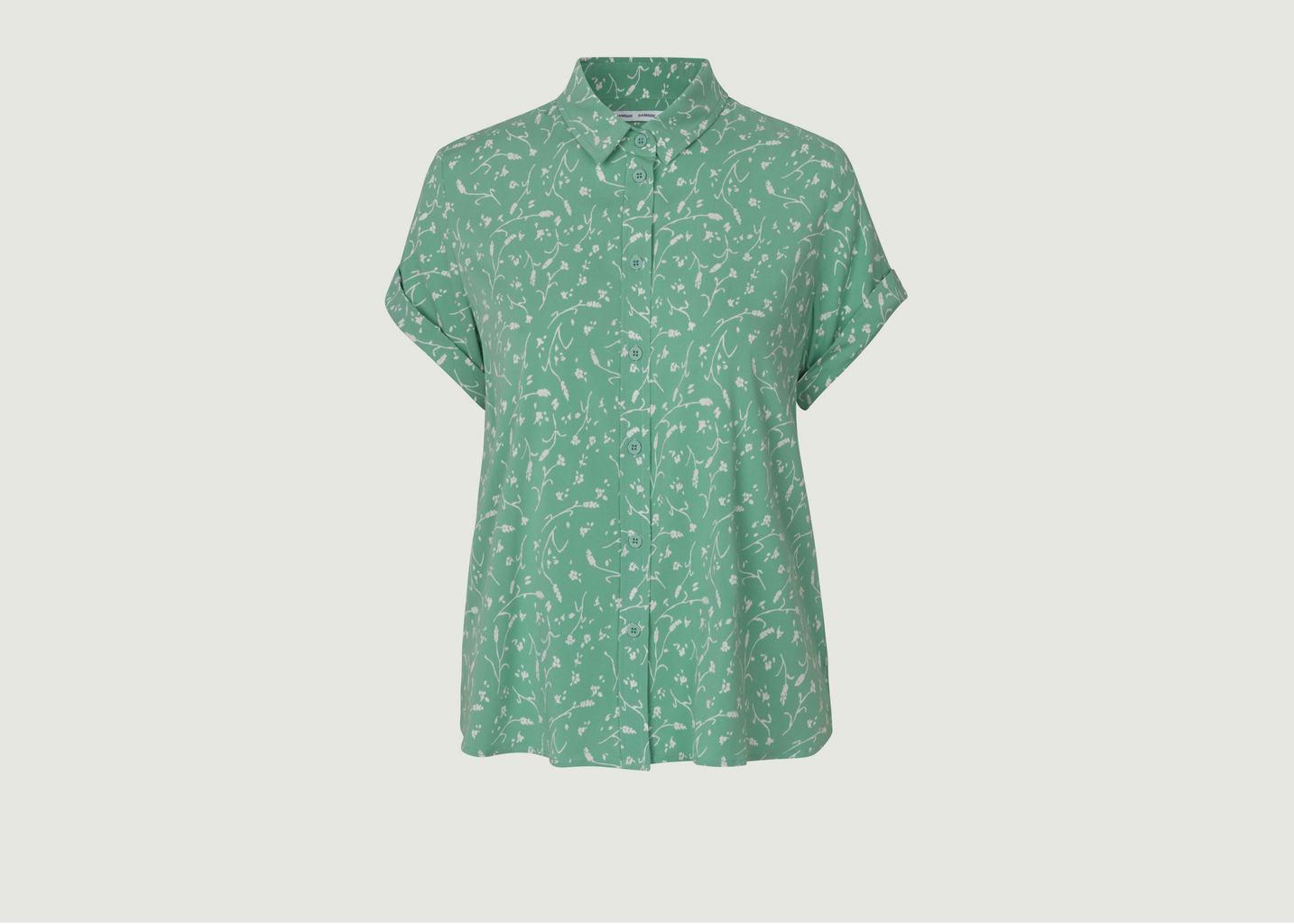 Chemise manches courtes fleurie Majan - Samsoe Samsoe