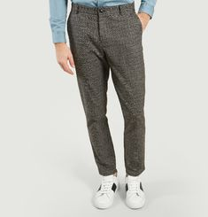 Frankie Trousers Prince-Of-Wales Check Pattern