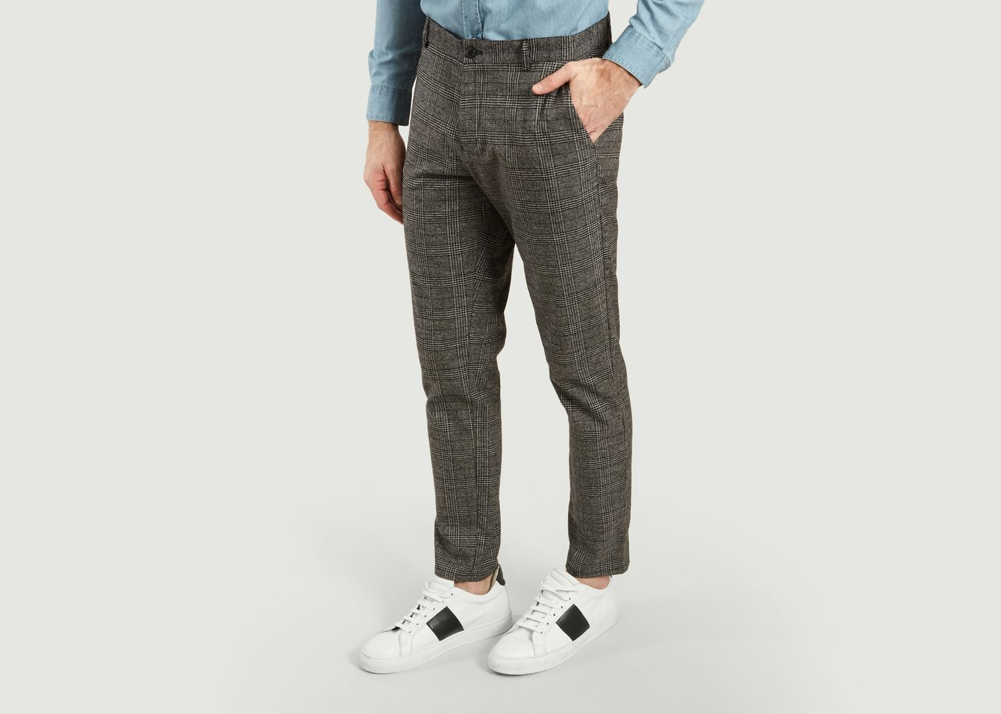 Pantalon Frankie Motif Prince-De-Galles - Samsoe Samsoe