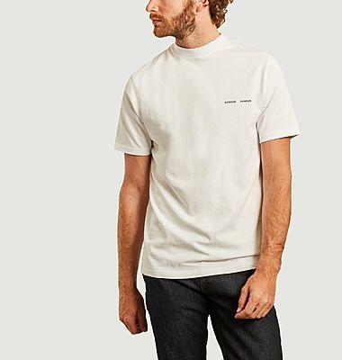 T-shirt siglé en coton bio Norsbro