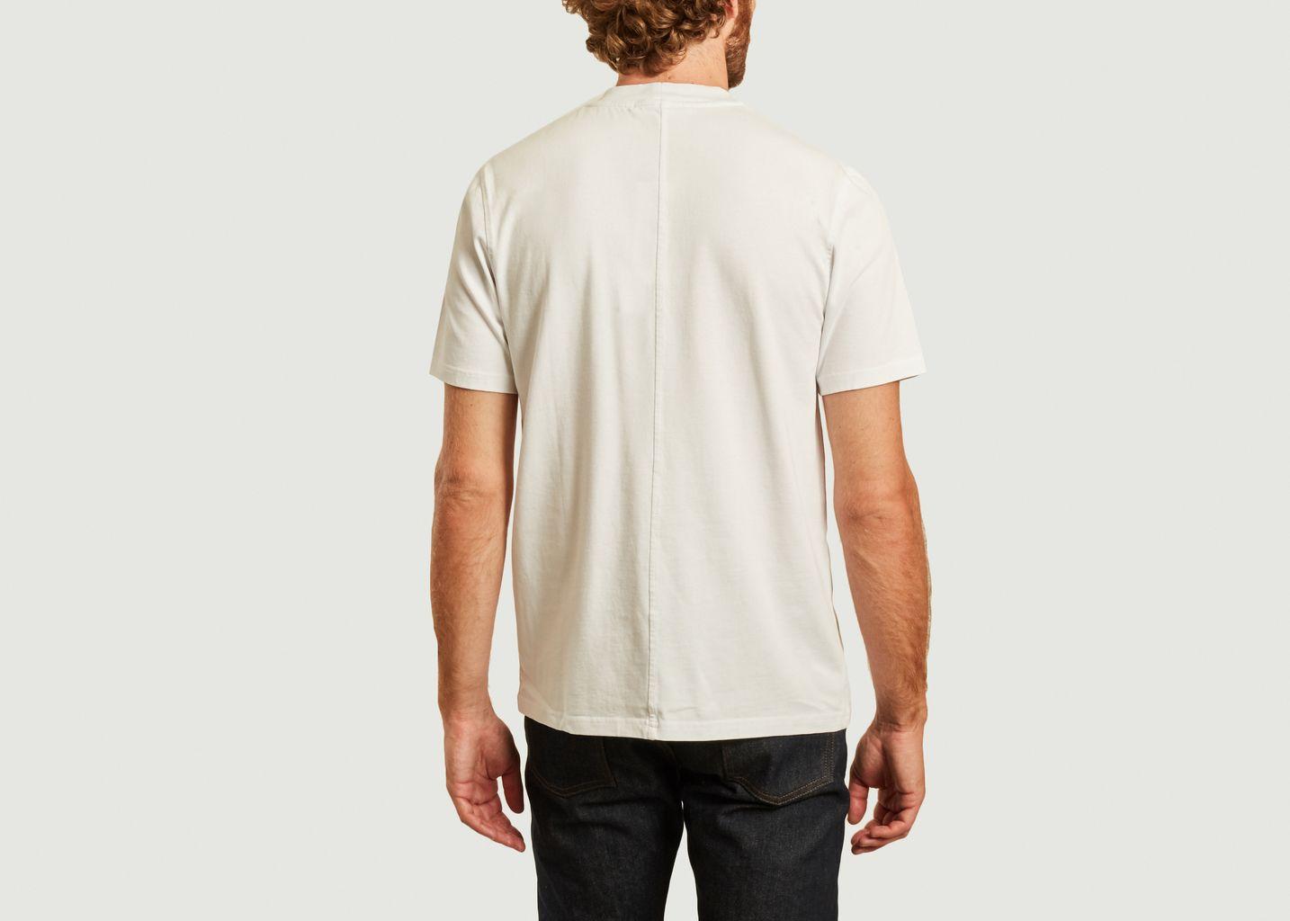 T-shirt siglé en coton bio Norsbro - Samsoe Samsoe