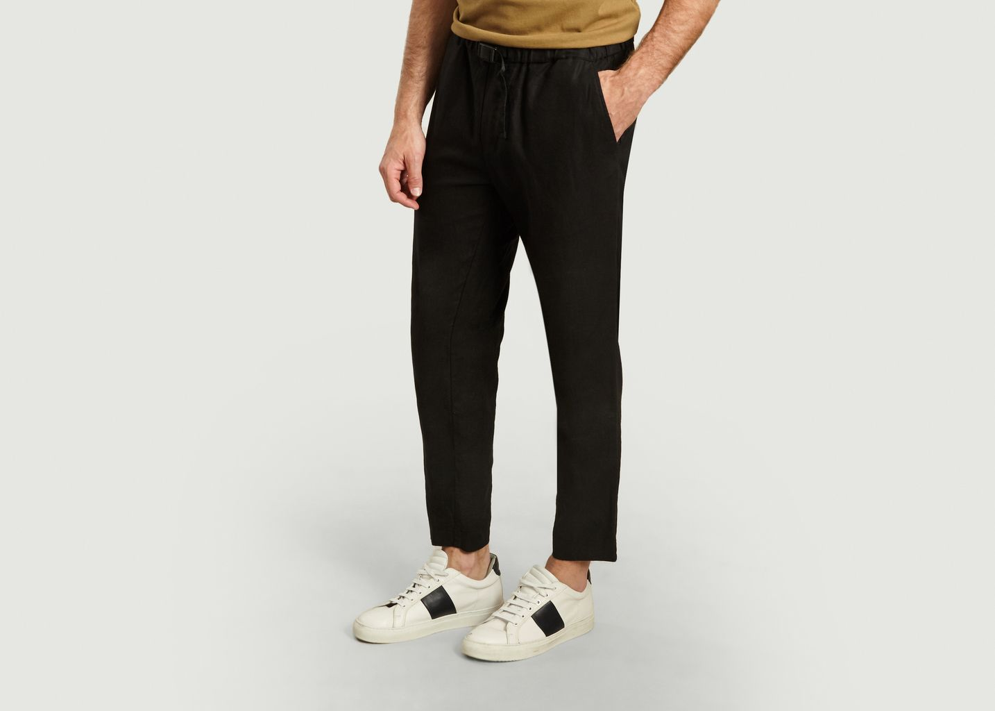Pantalon en lin et coton bio Agnar - Samsoe Samsoe