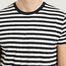 matière T-Shirt Rayé Patrick - Samsoe Samsoe