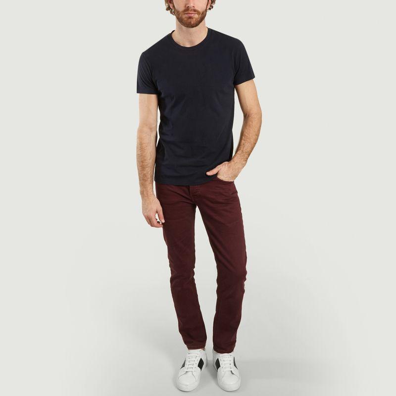 T-Shirt Uni En Coton Bio Kronos - Samsoe Samsoe