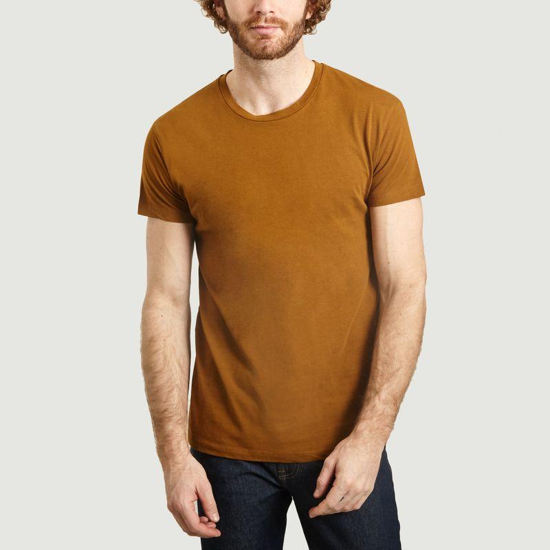 T-Shirt En Coton Bio Kronos - Samsoe Samsoe