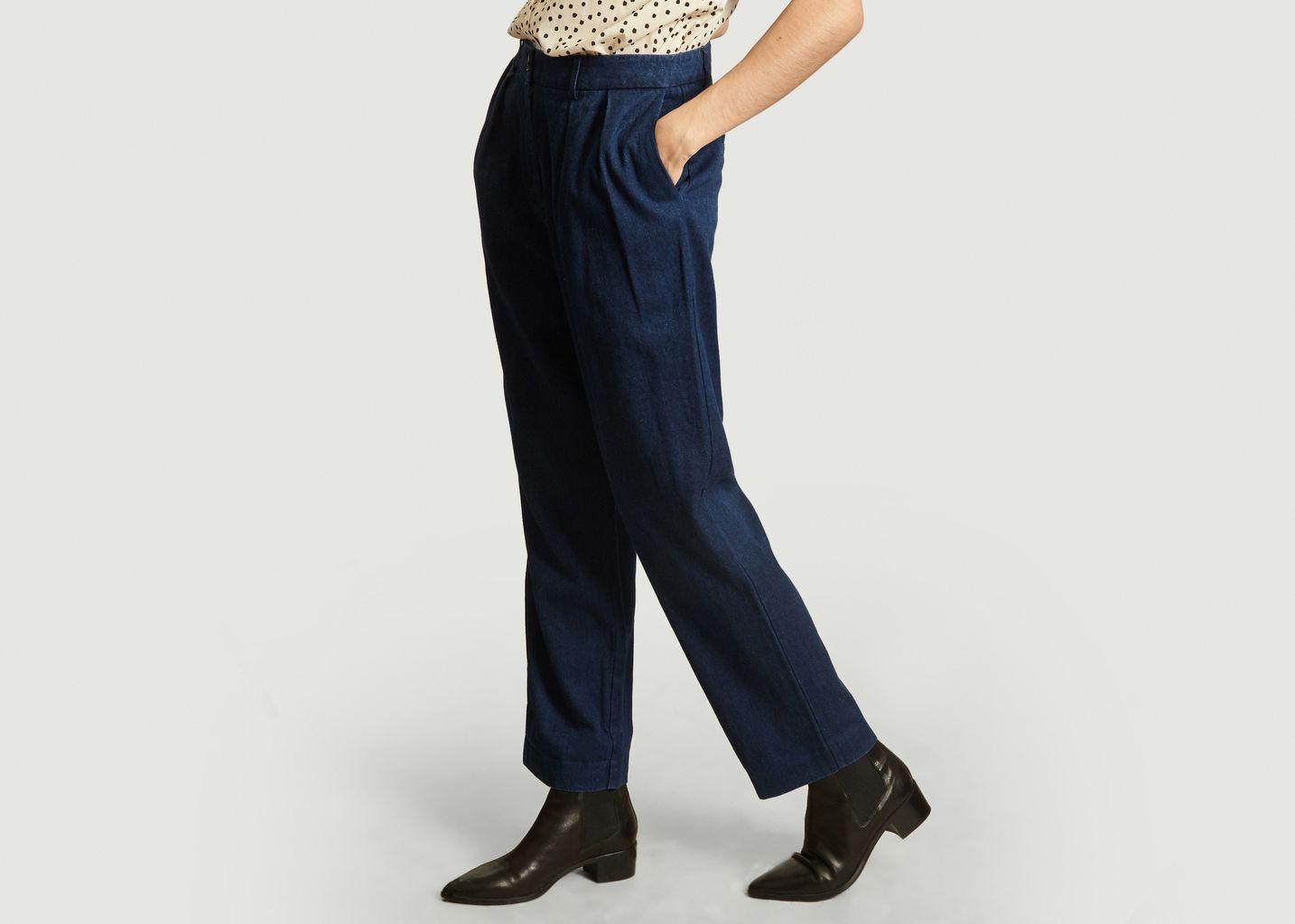Pantalon ample 7/8e Atzuko - Samsoe Samsoe