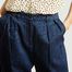 matière Pantalon ample 7/8e Atzuko - Samsoe Samsoe