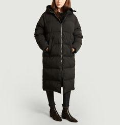 Sera long down jacket
