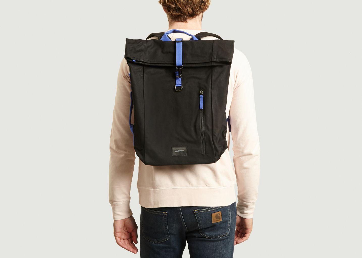 Sac à dos en coton bio et polyester recyclé Dante - Sandqvist
