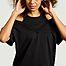 matière Robe tee-shirt Lila - Sarah de Saint Hubert