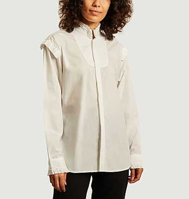 Flore shirt with frills