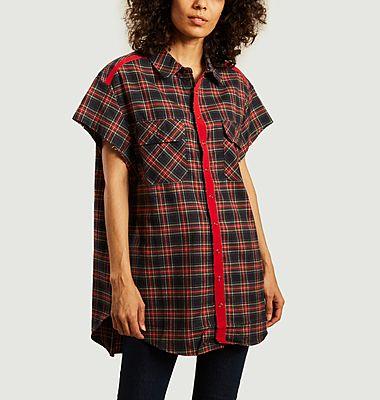 Chemise oversize à carreaux Erin