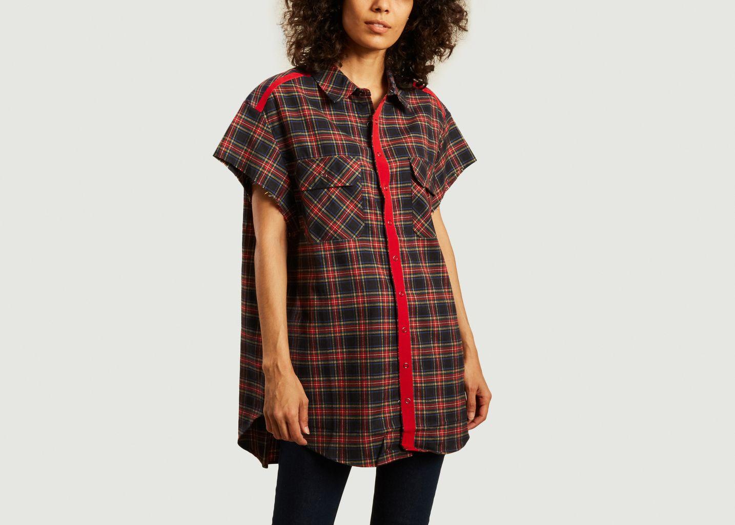 Chemise oversize à carreaux Erin - Sarah de Saint Hubert
